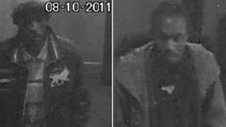 South Yorkshire Police release CCTV images of two men they want to speak to
