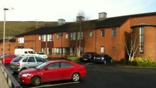 Ovenvale Court sheltered housing complex
