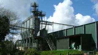 STC Packers plant near Liskeard