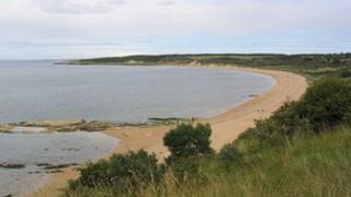 Gullane Bents beach