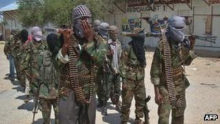 Al-Shabab fighters