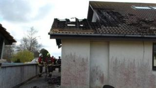 Fire at Heamoor Community Primary School