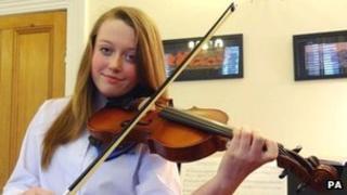 Charlotte Woodward, 13, from Bristol