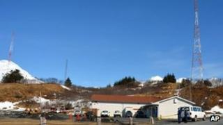 US Coast Guard base at Kodiak, Alaska 12 April 2012