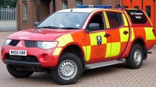 Small incident unit at South Yorkshire fire service