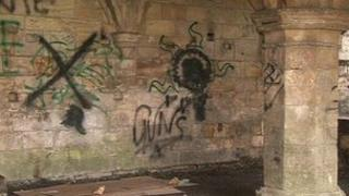Graffiti in York