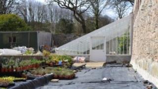 Saumarez Park walled garden