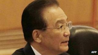 Chinese Premier Wen Jiabao. Photo: April 2012