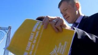 Willie Rennie launches the campaign