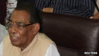 Outgoing Bangladeshi Railways Minister Suranjit Sengupta
