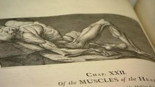 Rare medical book from the library of the Birmingham Medical Institute