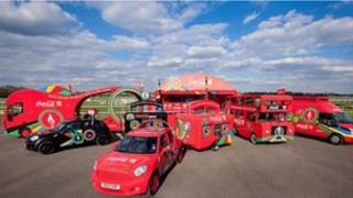 Coca-Cola Beat Fleet, pic courtesy of Alex Rumford/Coca Cola