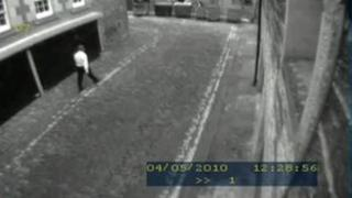 CCTV showed Gilroy going in and out of the basement garage at his workplace