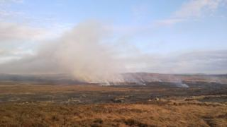 Wigtownshire fire