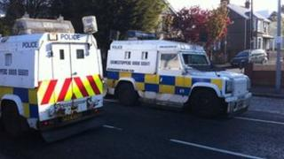 The PSNI have revisted the scene of the gun attack