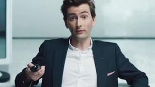 David Tennant in Virgin Media ad