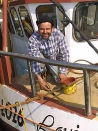 Colin Dolby who died at sea in 2008