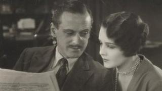 Miles Mander and Madeleine Carroll
