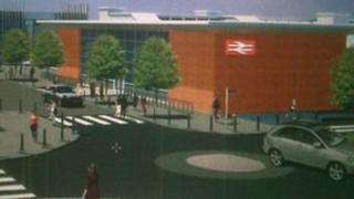 An artist's impression of how the station might look