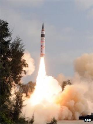Agni-V launch
