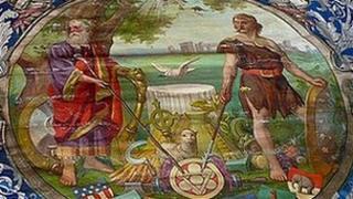 Bridgwater Independent Druids' Friendly Society banner