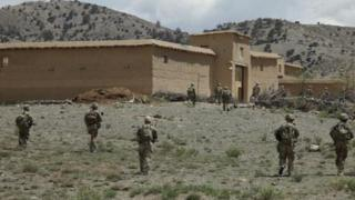Combat Outpost Kushamond in Afghanistan