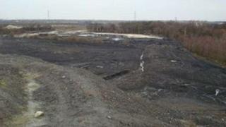 Rossington colliery site