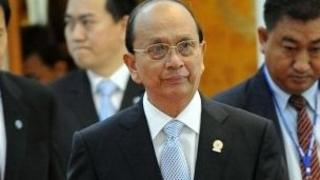Burmese President Thein Sein, pictured here at the Asean summit on 4 April