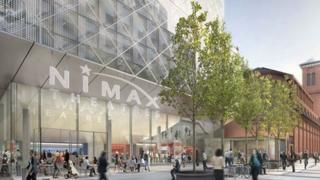 Artists impression of new Nimax theatre