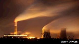 Cottam coal-fired power station