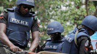 Police in northern Nigeria
