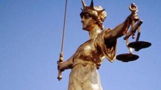 The Old Bailey Statue - 'Scales of Justice'