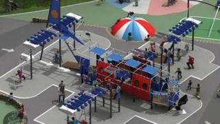 Airplay park design