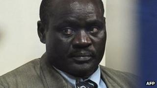 Jean-Bosco Uwinkindi arriving in Kigali on 19 April 2012