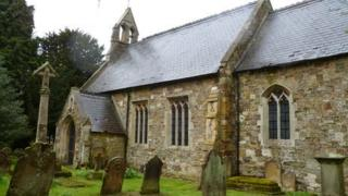 The church of St Mary in West Torrington
