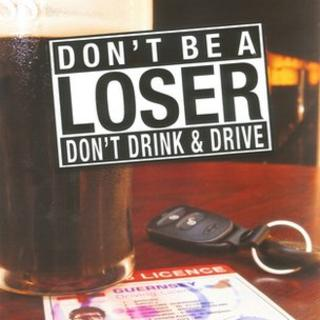 Guernsey Police anti-drink driving campaign poster