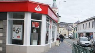Santander Caernarfon (formerly Abbey National)