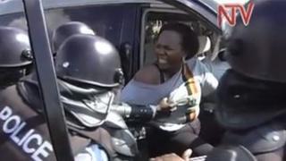 Ugandan opposition member Ingrid Turinawe