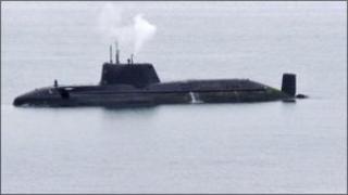 An HMS Astute
