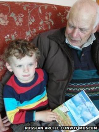 John Murdo Mackenzie and his grandson John Mackenzie