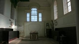 The chapel at Compton Verney
