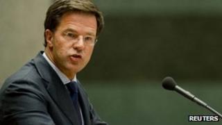Dutch PM Mark Rutte (24 March 2012)