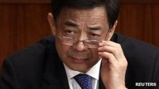 Bo Xilai, file image from 3 March 2013