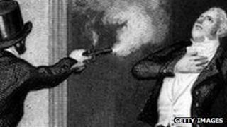 John Bellingham shooting Spencer Perceval
