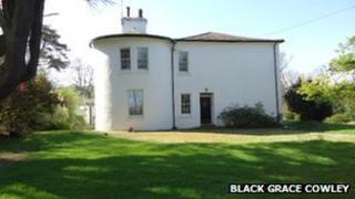 Patrick vicarage courtesy Black Grace Cowley estate agents