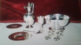 Stolen silverware