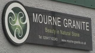 Mourne Granite sign