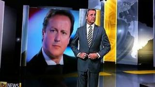 Mark Austin on ITV News