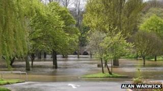 River Stour floods