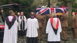 Funeral of Cpl Stanley